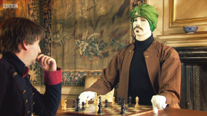 Horrible Histories Series 4 Episode 7-10-Gorgeous Georgians-HHTV Sport-Napoleon VS The mechanical chess-playing Turk2